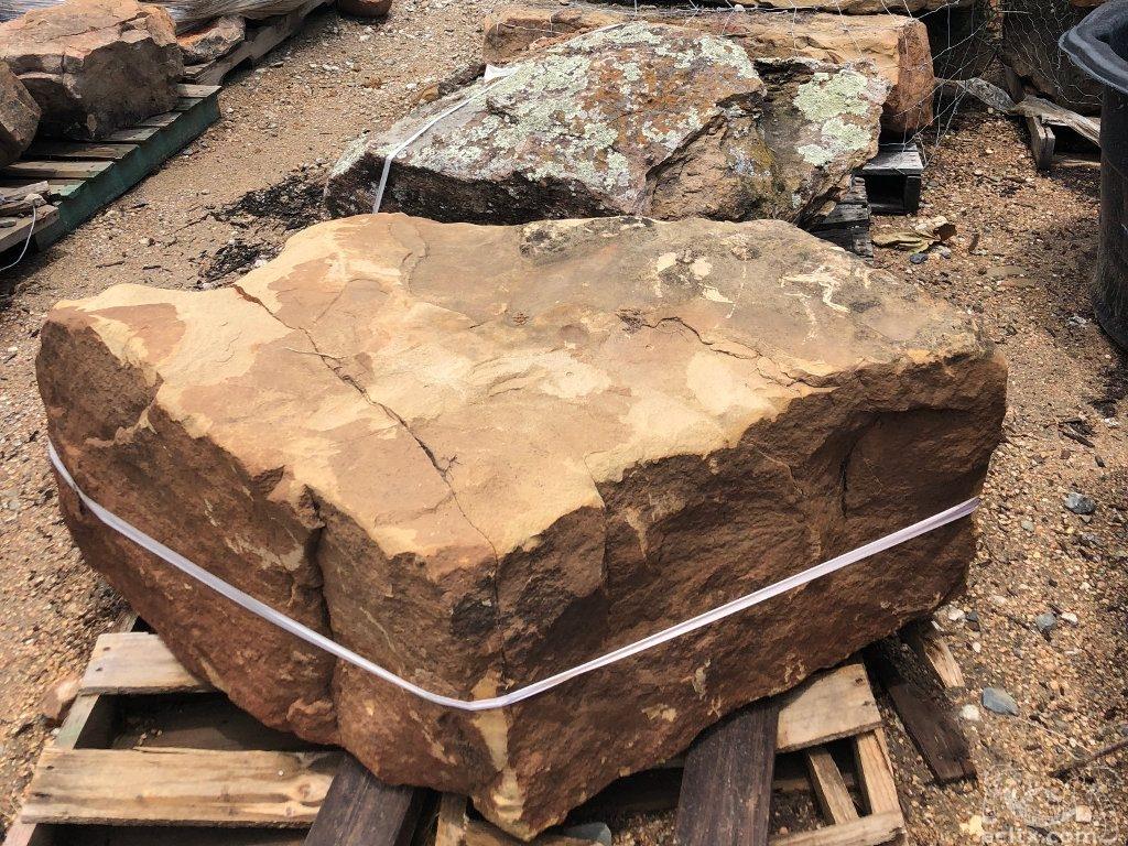 Large Moss Boulder